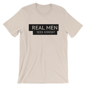 Real Men Seek KONNST Boyfriend T-Shirt-Konsnt-Times Up