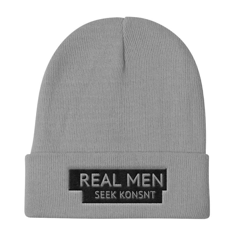 Real Men Seek KONSNT Knit Beanie-Hat-Konsnt-Times Up