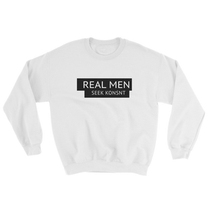 Real Men Seek KONSNT Sweatshirt-Sweatshirt-Konsnt-Times Up