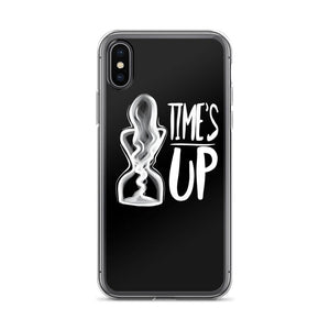Time's Up - Black iPhone Case-Konsnt-Times Up