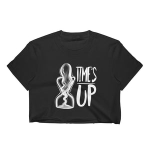 Time's Up Crop Top-Crop Top-Konsnt-Times Up