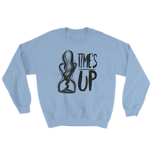 Time's Up Sweatshirt-Sweatshirt-Konsnt-Times Up