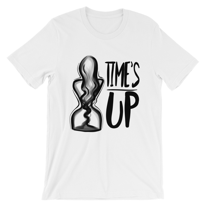 Time's Up - Unisex T-Shirt-T-Shirt-Konsnt-Times Up