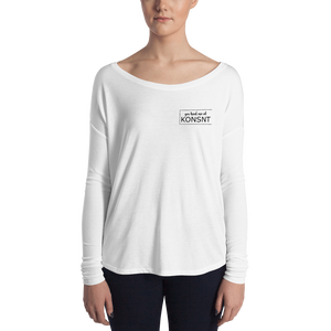You Had Me At KONSNT- Long Sleeve Tee-Long Sleeve-Konsnt-Times Up