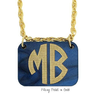 Charm Monogram Necklace