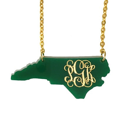 Stately Monogram Necklace