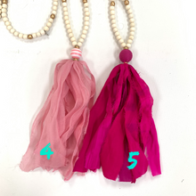 Sari Silk Necklace