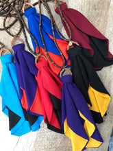 Team Tie Tassel Necklace