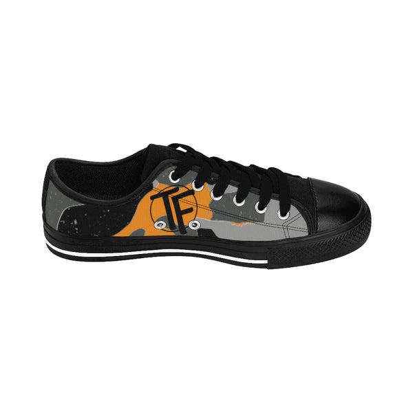 TYFE Black and Orange Camouflage TF-Pro LT Women's Sneakers