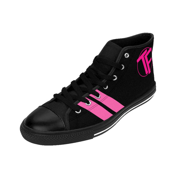 "TYFE Black Series ""Pink"" Women's TF-Pro High-top Sneakers"