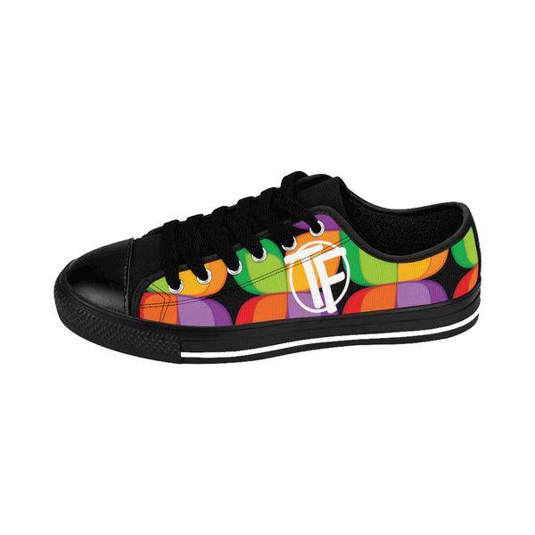 TYFE (Black And Color Flowers) TF-Pro LT Women's Sneakers