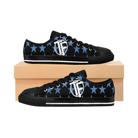 TYFE Black And Blue Stars TF-Pro LT Women's Sneakers