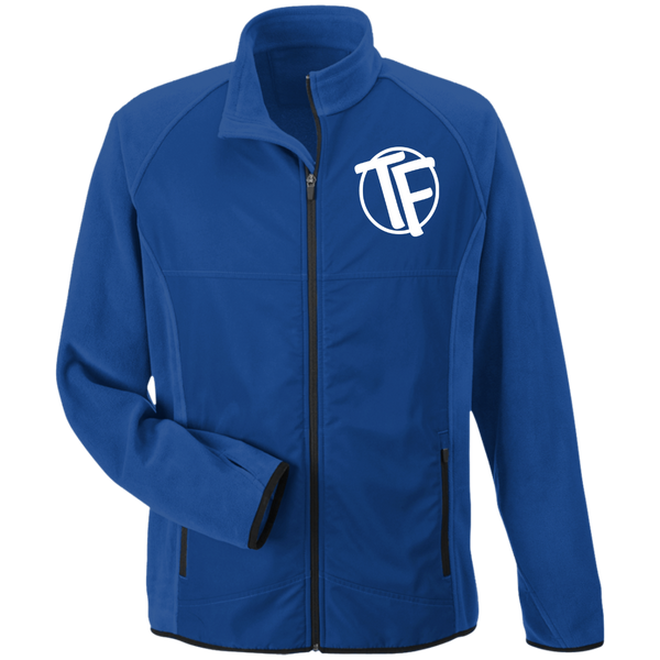 TYFE Embroidered Microfleece with Front Polyester Overlay