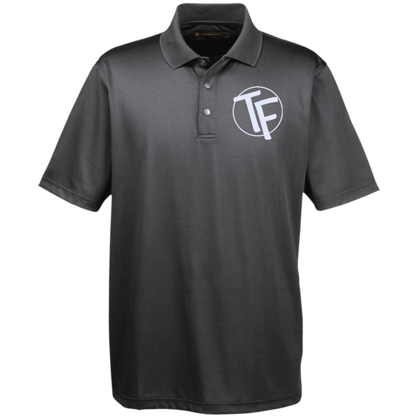TYFE Men's Snap Placket Performance Polo