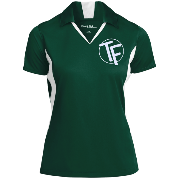 TYFE Women's Colorblock Performance Polo