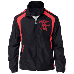 TYFE Men's Embroidered Jersey-Lined Jacket