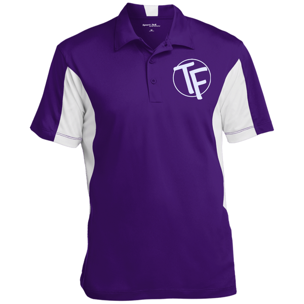 TYFE Men's Colorblock Performance Polo