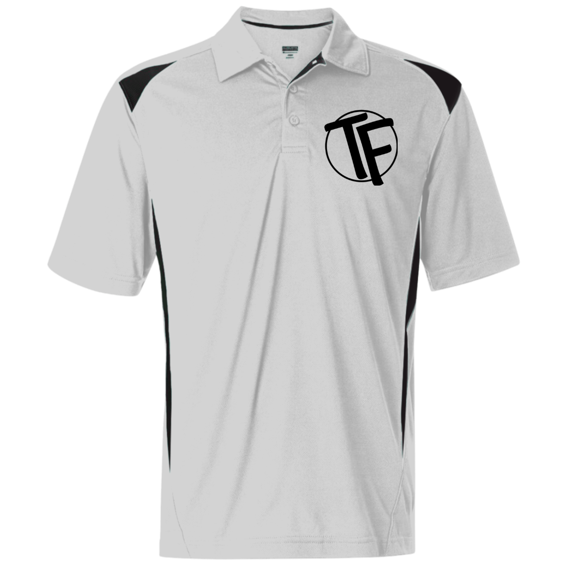 TYFE White/Black Men's Sport Shirt