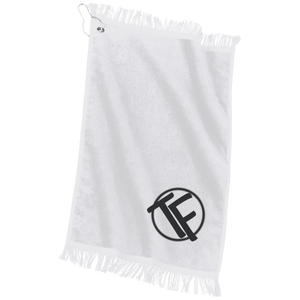 TYFE White Workout Sports Towel