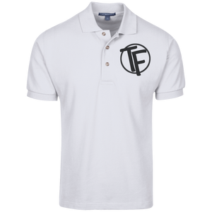 TYFE Men's Cotton Pique Knit Polo-Embroidered