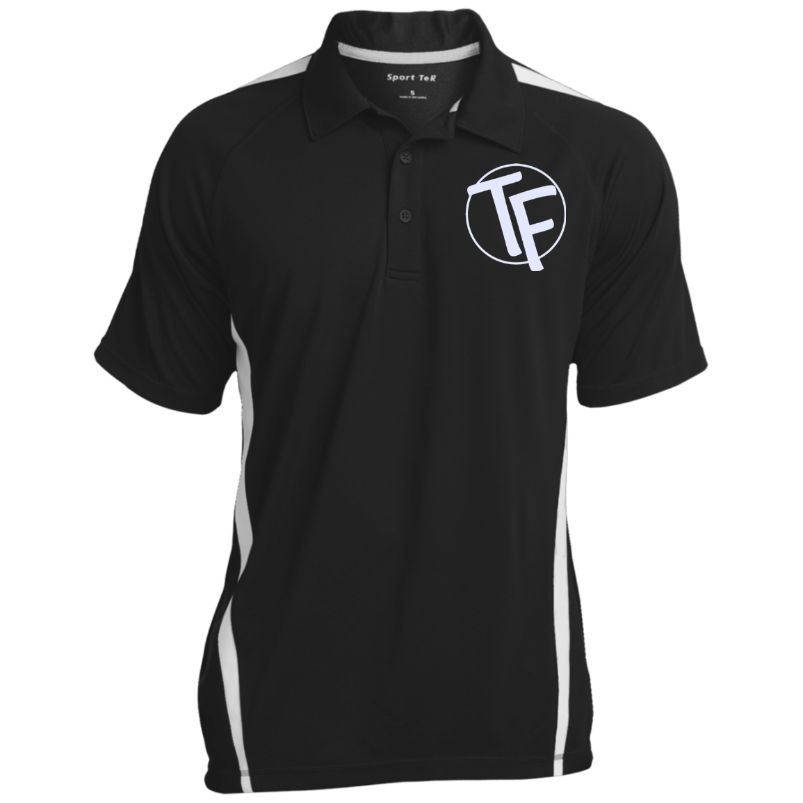 TYFE Men's Colorblock 3-Button Polo