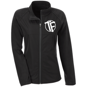 "TYFE Ladies' Microfleece with Front Polyester Overlay w/White ""TF"" Logo"