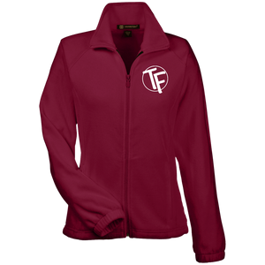 "TYFE Women's Fleece Jacket w/White ""TF"" Logo"