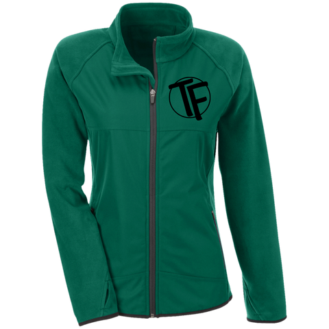 "TYFE Ladies' Microfleece with Front Polyester Overlay w/Black ""TF"" Logo"