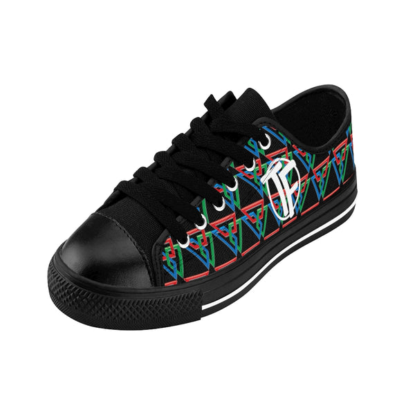 TYFE Black And Color Triangles TF-Pro LT Women's Sneakers