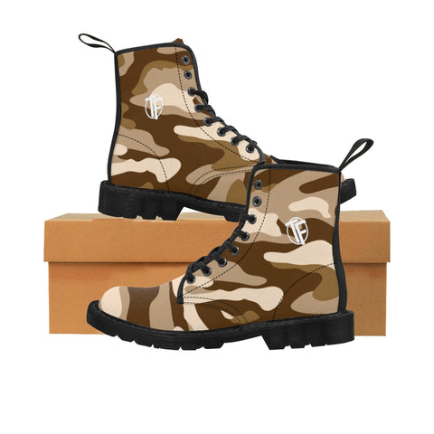 TYFE Men's Brown Camo Sport Boots