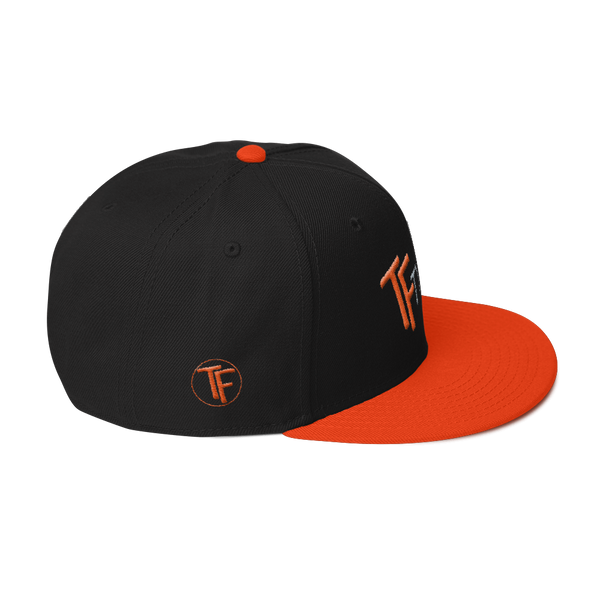TYFE Black/Orange B-Boy Snapback Hat