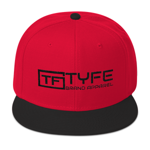 TYFE Red/Black Snapback Hat V2