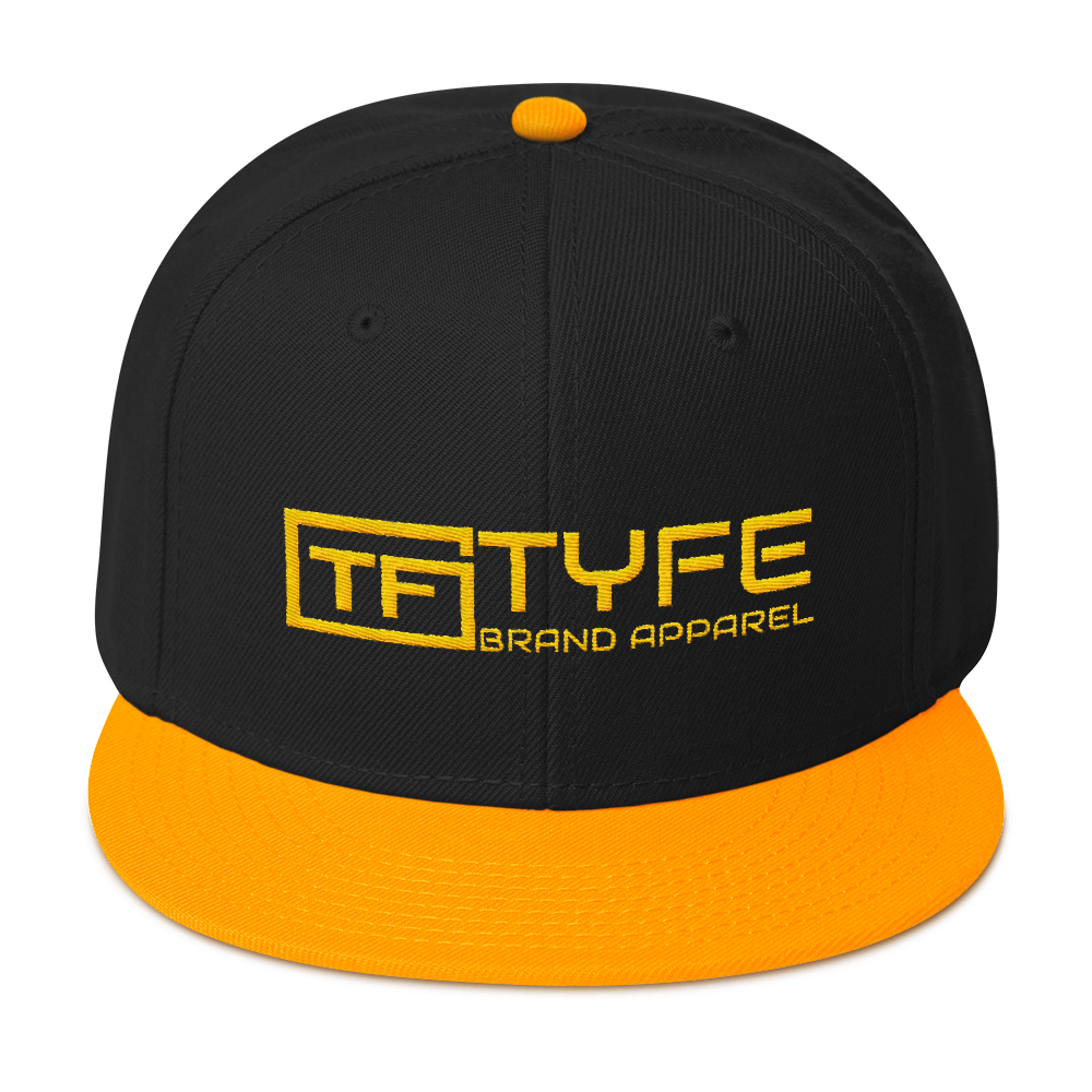 TYFE Black/Gold Snapback Hat V2