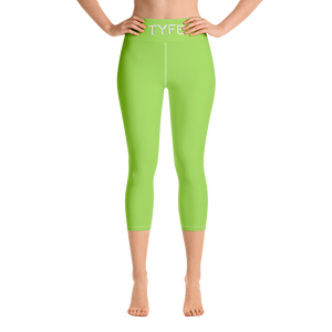 TYFE (Green) Yoga Capri Sport Leggings