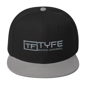 TYFE Black/Gray Snapback Hat V2