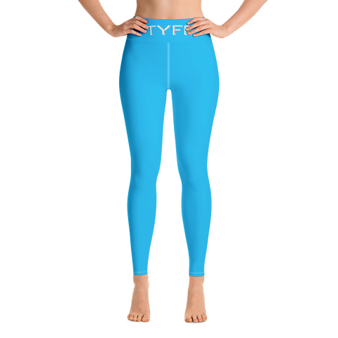 TYFE (Blue) Yoga Sport Leggings