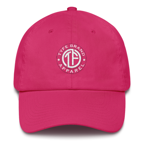 TYFE Pink/White Cotton Cap