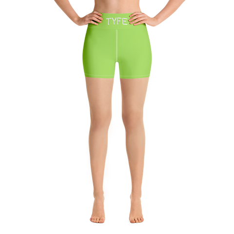 TYFE (Green) Yoga Shorts