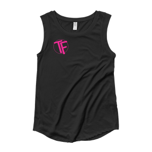 "TYFE Black Series ""Pink"" Ladies' Cap Sleeve T-Shirt"