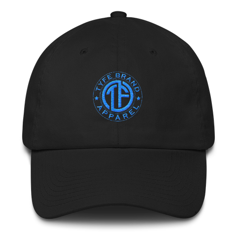 TYFE Black/Blue Cotton Cap