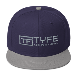 TYFE Navy Blue/Gray Snapback Hat V2