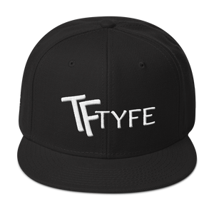 TYFE Black/White B-Boy Snapback Hat