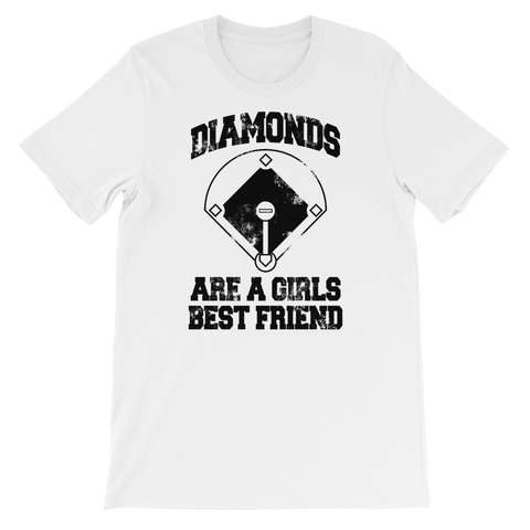 Diamonds Are A Girls Best Friend   T-Shirt