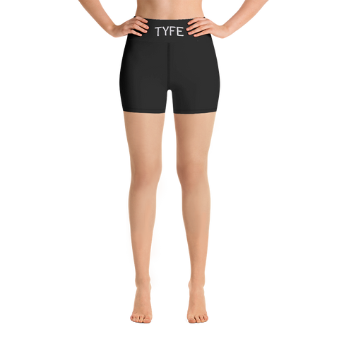 TYFE (Black) Yoga Shorts