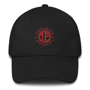TYFE Black/Red Cotton Cap