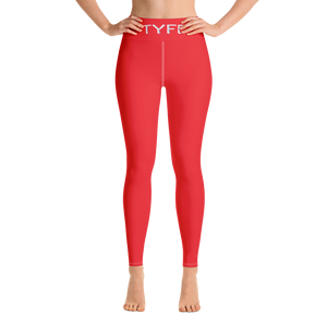 TYFE (Red) Yoga Sport Leggings