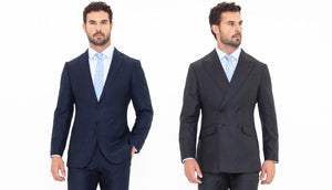 Single vs. Double-Breasted Suit Jackets
