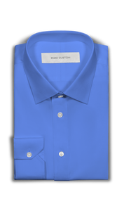 Blue Dress Shirt - Enzo Custom