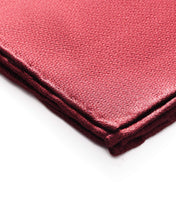 Burgundy Novelty Pocket Square - Enzo Custom