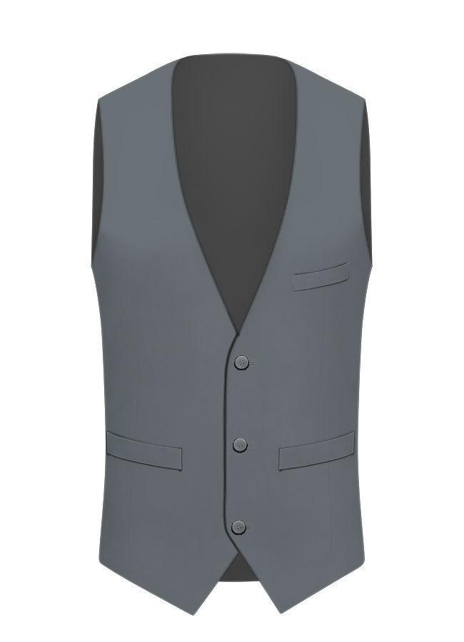 Fabric-Back Vest - Enzo Custom